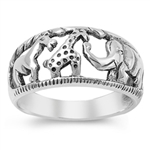 Silver Ring - Animals - $5.78