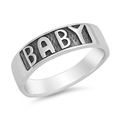 Silver Ring - Baby  -  $2.99