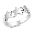 Silver Ring -  Star -$3.39