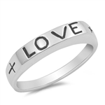 Silver Ring - Love - $5.77