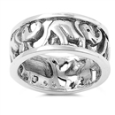 Silver Ring - Elephant  -  $7.49
