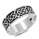 Silver Celtic Ring  - $7.00