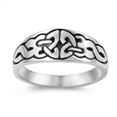 Silver Celtic Ring - $5.24