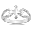 Silver Ring - Cross  -  $5.25