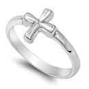 Silver Ring - Cross - $3.94
