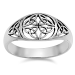 Silver Celtic Ring - $4.99