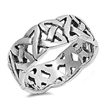 Silver Celtic Ring - $7.26