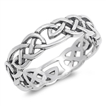 Silver Celtic Ring - $4.88