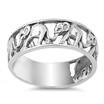 Silver Ring - Elephant - $6.48