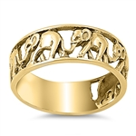 Silver Ring - Elephant - $7.04