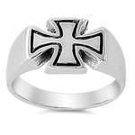 Silver Ring - Independence Cross - $5.95