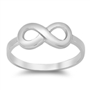 Silver Ring - Infinity Sign - $4.17