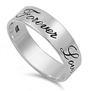 Silver Ring - Forever Love - $5.41