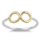 Silver Ring - Infinity Sign - $3.29