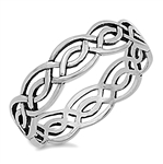 Silver Celtic Ring - $3.15