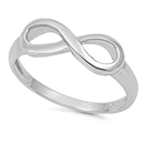 Silver Ring - Infinity Sign - $3.18