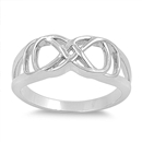 Silver Ring - Infinity Ring - $5.34