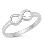 Silver Ring - Infinity Sign - $2.74