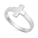Silver Ring - Cross - $4.72