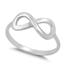 Silver Ring - Infinity Ring - $3.50