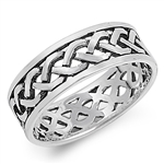 Silver Celtic Ring - $7.52
