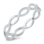 Silver Braid Ring - $1.99