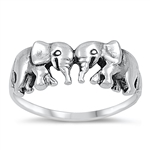 Silver Ring - Elephant - $4.12