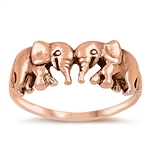 Silver Ring - Elephant - $5.58