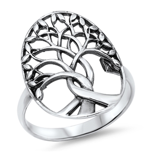 Silver Ring - Tree of Life - $5.98