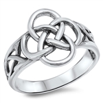 Silver Celtic Ring - $5.42