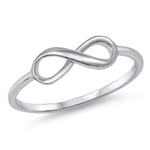 Silver Ring - Infinity Sign - $2.35