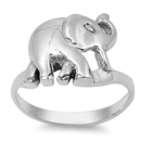 Silver Ring - Elephant - $5.68