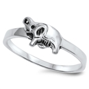 Silver Ring - Baby Elephant - $3.15