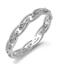 Silver Celtic Ring - $3.81