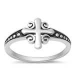 Silver Ring - Cross - $4.69