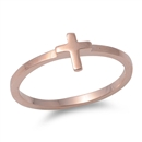 Silver Ring - Cross - $2.36