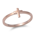 Silver Ring - Cross - Start $3.39