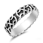 Silver Celtic Ring - $4.72
