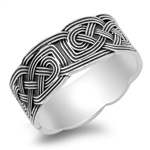 Silver Celtic Ring - $7.89