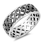 Silver Celtic Ring - $5.69