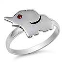 Silver Ring - Elephant - $4.59