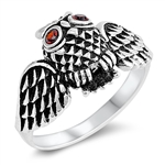 Silver Ring - Owl - $5.96