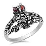 Silver Ring - Owl - $5.18