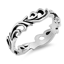 Silver Ring - Vines - $4.98