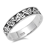 Silver Celtic Ring - $4.96