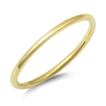 Silver Ring and Toe Ring - Round Band - $2.85