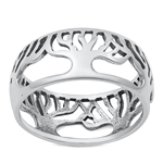 Silver Ring - Tree of Life - $5.26