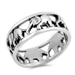 Silver Ring - Elephant - $9.47