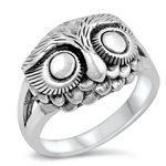 Silver Ring - Owl - $9.22