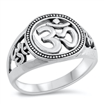 Silver Ring - OM Sign - $6.02